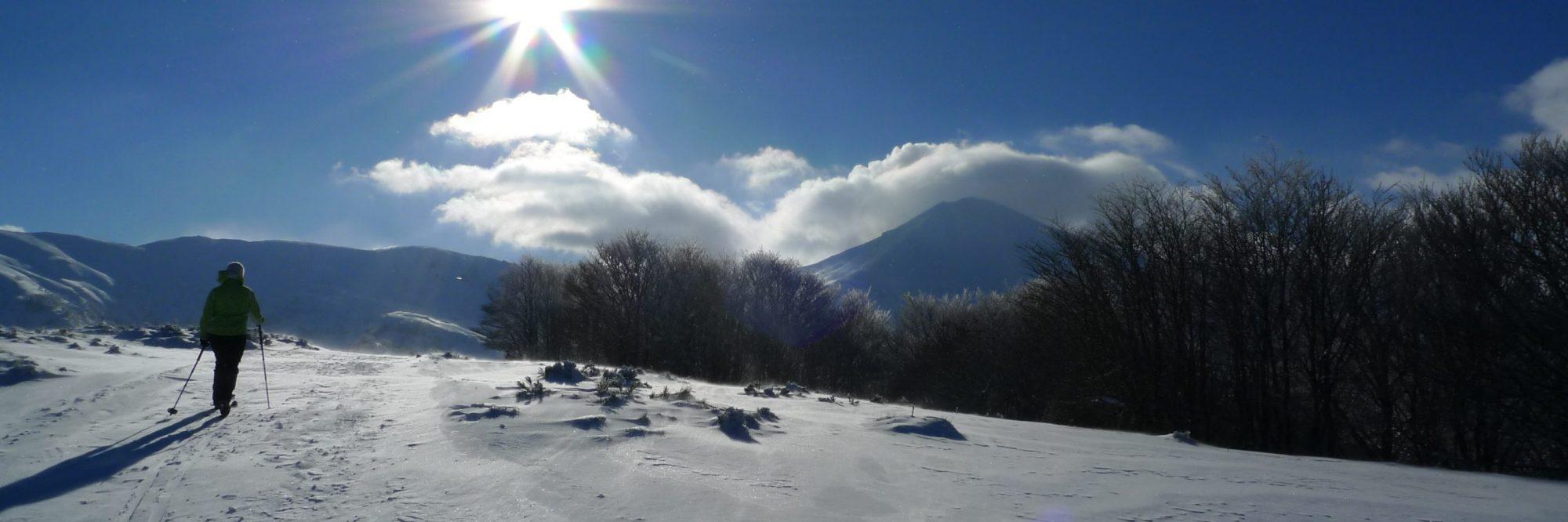 Randonnée nordique au Col de Serre. Photo ©Alta Terra