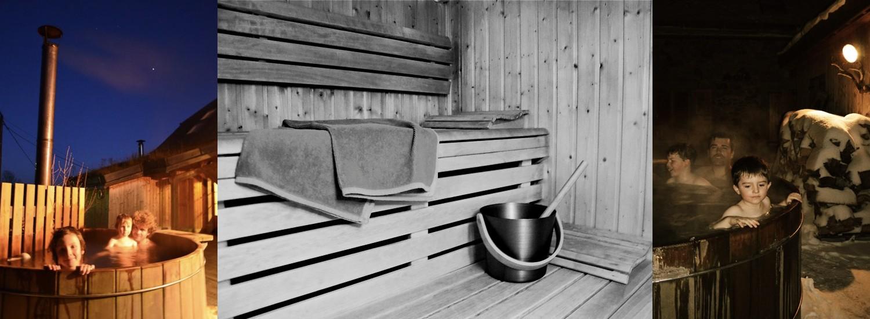 L'hiver, profitez du bain nordique, en plus du hammam et du sauna. Photos ©Alta Terra