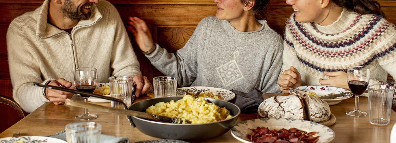 Convivialité et gourmandise! Photo ©Pierre Soissons