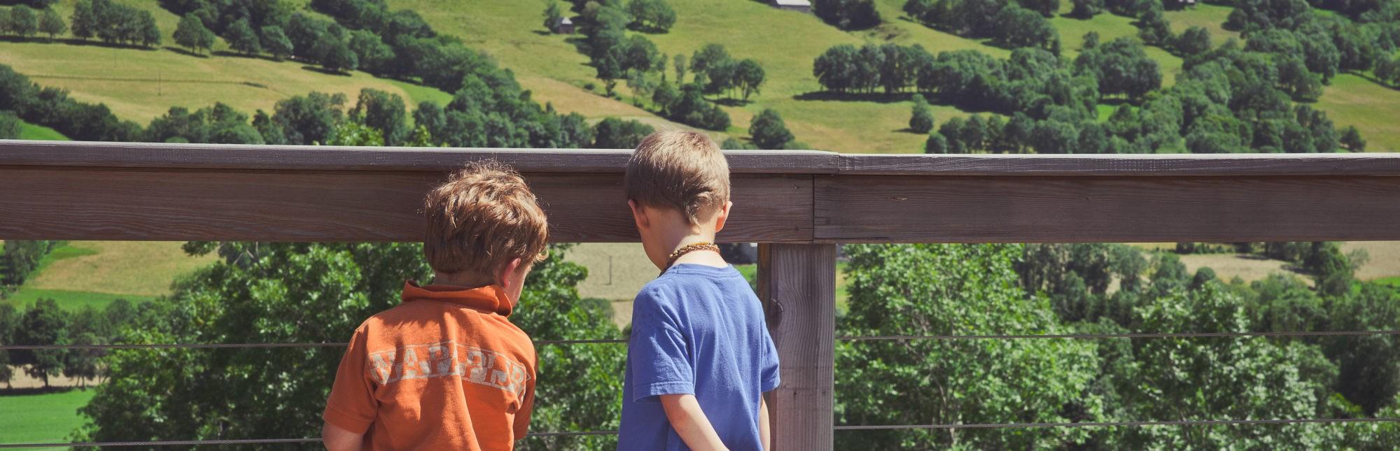 Vive les vacances dans le Cantal! Photo ©Eve Hilaire